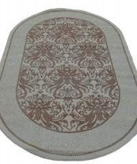 Акриловый ковер 104828 0.80x1.50 овал
