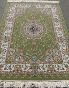 Иранский ковер Shah Kar Collection Y-009 8070 green - высокое качество по лучшей цене в Украине.