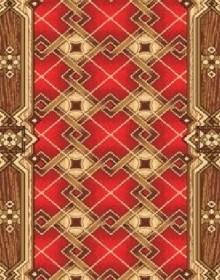 Ковролин с рисунком Parket 19 red 315 - высокое качество по лучшей цене в Украине.