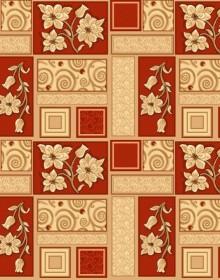 Ковролин с рисунком Vesna red 315 - высокое качество по лучшей цене в Украине.