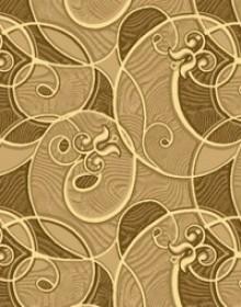 Ковролин с рисунком Yunona brown 170 - высокое качество по лучшей цене в Украине.