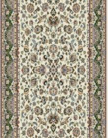 Высокоплотная ковровая дорожка Karol 7957 cream-green - высокое качество по лучшей цене в Украине.