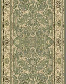 Высокоплотная ковровая дорожка Oriental 3416r green - высокое качество по лучшей цене в Украине.