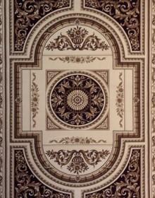 Высокоплотная ковровая дорожка Oriental 4044 cream - высокое качество по лучшей цене в Украине.