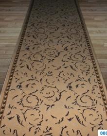 Высокоплотная ковровая дорожка Safir 0001-01 khv-brw - высокое качество по лучшей цене в Украине.