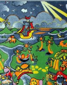 Детская ковровая дорожка Rainbow 02157 green - высокое качество по лучшей цене в Украине.