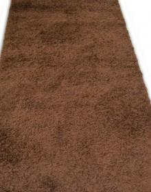 Высоковорсная ковровая дорожка Shaggy Lux 1000A brown - высокое качество по лучшей цене в Украине.