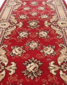 Синтетическая ковровая дорожка Silver 305-22 red - высокое качество по лучшей цене в Украине.