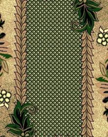 Синтетическая ковровая дорожка Zeynep 158 GREEN - высокое качество по лучшей цене в Украине.