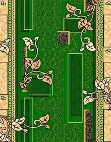 Синтетическая ковровая дорожка Zeynep 504 GREEN - высокое качество по лучшей цене в Украине.