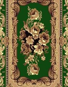 Синтетическая ковровая дорожка Zeynep 8867 GREEN - высокое качество по лучшей цене в Украине.