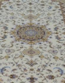 Высокоплотная ковровая дорожка Mashhad 0398 cream-cream - высокое качество по лучшей цене в Украине.