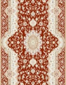 Высокоплотная ковровая дорожка Mashhad 0398 cream-red - высокое качество по лучшей цене в Украине.
