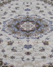 Высокоплотная ковровая дорожка Mashhad 0507B cream-green - высокое качество по лучшей цене в Украине.