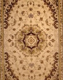Высокоплотная ковровая дорожка Mashhad 0507B cream-red - высокое качество по лучшей цене в Украине.