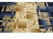 Синтетическая ковровая дорожка Super Elmas 5131C ivory-d.blue - высокое качество по лучшей цене в Украине - изображение 3.