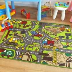 Colorful children's rugs - the key to a good mood in the nursery