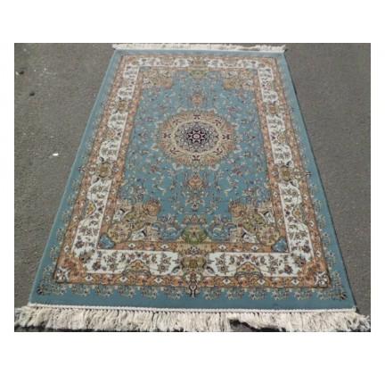 Иранский ковер Shah Kar Collection (Y-009/80060 blue) - высокое качество по лучшей цене в Украине.