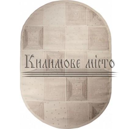 Акриловый ковер Alina 0707B Cream - высокое качество по лучшей цене в Украине.