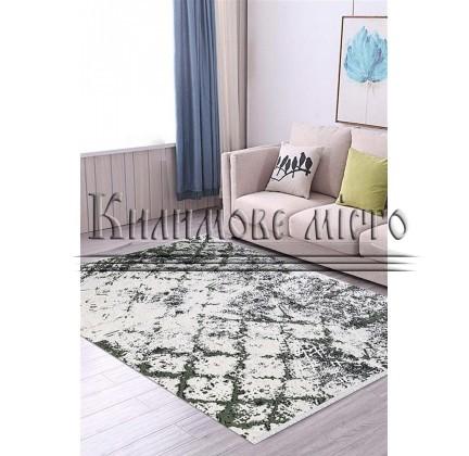 Акриловий килим ARLES AS05D CREAM-GREEN - высокое качество по лучшей цене в Украине.