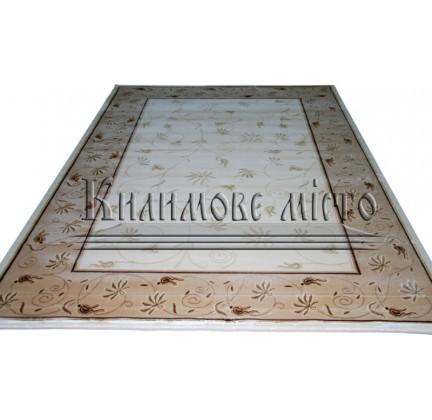 Акриловий килим 9809A cream - высокое качество по лучшей цене в Украине.
