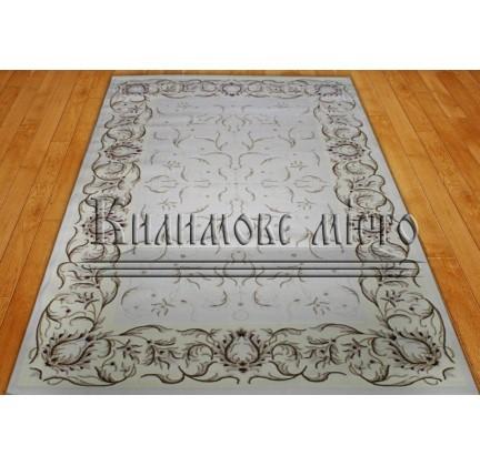 Акриловый ковер Simirna 0031A ekru-ekru-c - высокое качество по лучшей цене в Украине.