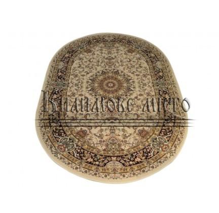 Акриловый ковер Sultan 0269 ivory-bordo - высокое качество по лучшей цене в Украине.