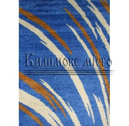 Высоковорсная ковровая дорожка First Shaggy 1198 , BLUE - высокое качество по лучшей цене в Украине.
