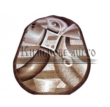 Синтетичний килим Amber 0191A BEJ/KAHVE - высокое качество по лучшей цене в Украине.