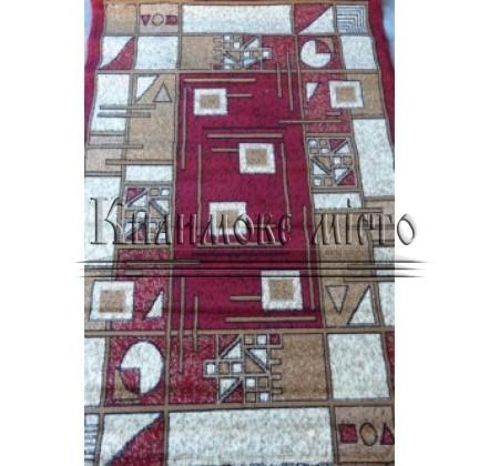 Синтетичний килим Amber 3002B KEMIK/BORDO - высокое качество по лучшей цене в Украине.