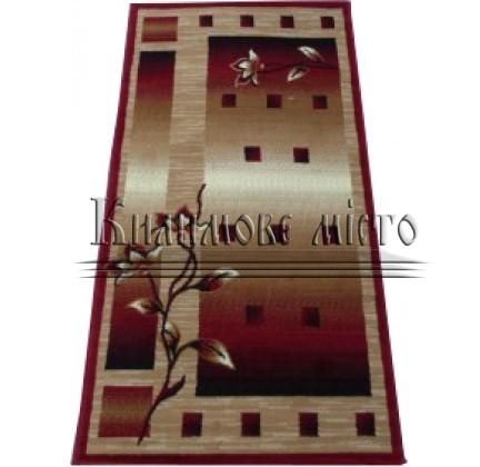 Синтетичний килим Amber 3743A BEJ/BORDO - высокое качество по лучшей цене в Украине.