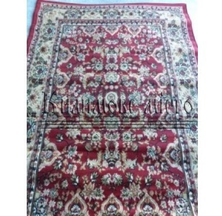 Синтетичний килим Amber 0701A BEJ/BORDO - высокое качество по лучшей цене в Украине.