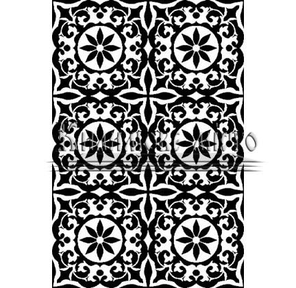 Иранский ковер Black&White 1720 - высокое качество по лучшей цене в Украине.