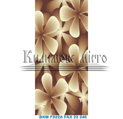 Синтетический ковер Club F522A d.brown-cream - высокое качество по лучшей цене в Украине.