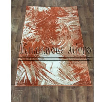 Синтетический ковер Color 3022 orange-ivory - высокое качество по лучшей цене в Украине.