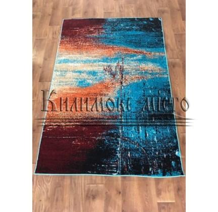 Синтетический ковер Color 3023 turkuaz-ivory - высокое качество по лучшей цене в Украине.
