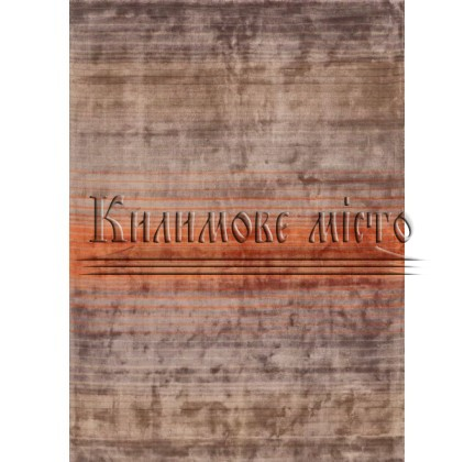Ковер из вискозы Holborn Stripe Orange - высокое качество по лучшей цене в Украине.