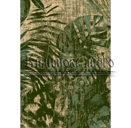 Шерстяной ковер Basic Jungle Ciemny Zielony - высокое качество по лучшей цене в Украине.
