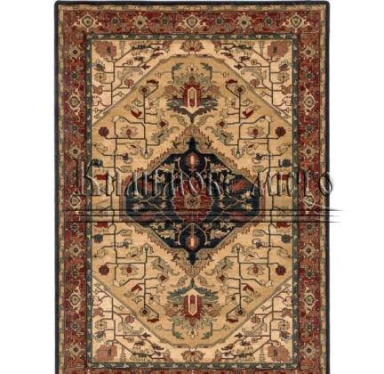 Шерстяной ковер Polonia Serapi Jasny Rubin - высокое качество по лучшей цене в Украине.