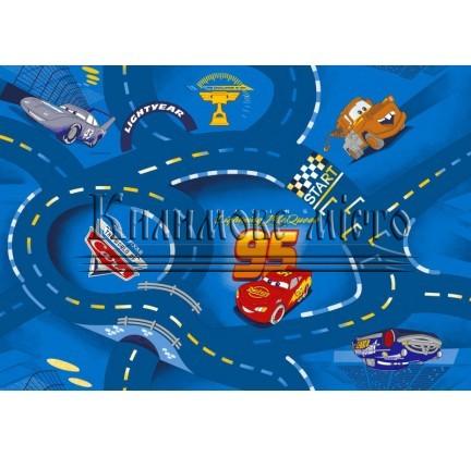 Детский ковролин World of  Cars blue 77 - высокое качество по лучшей цене в Украине.