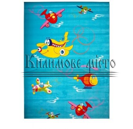 Детский ковер Baby 2055 Mavi-Mavi - высокое качество по лучшей цене в Украине.