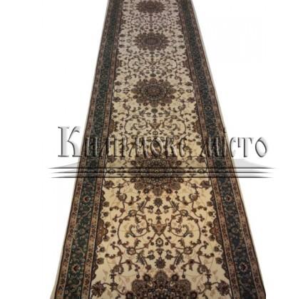 Высокоплотная ковровая дорожка Efes 0265 CREAM-GREEN - высокое качество по лучшей цене в Украине.