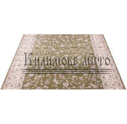 Высокоплотная ковровая дорожка Esfehan 4904A green-ivory - высокое качество по лучшей цене в Украине.