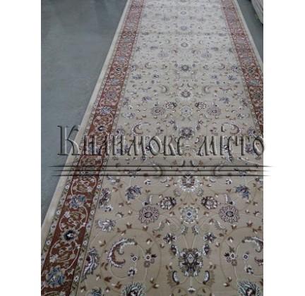 Высокоплотная ковровая дорожка Ottoman 0917 беж - высокое качество по лучшей цене в Украине.