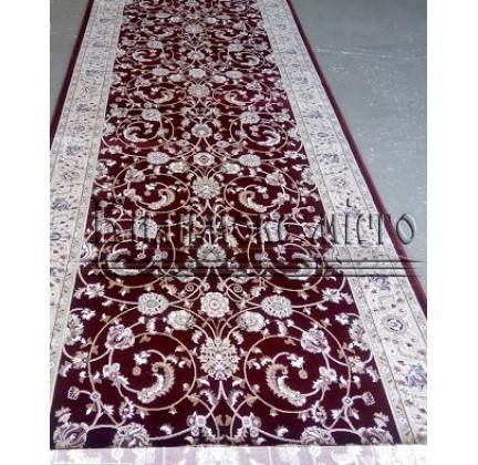 Високощільна килимова доріжка Ottoman 0917 бордо - высокое качество по лучшей цене в Украине.