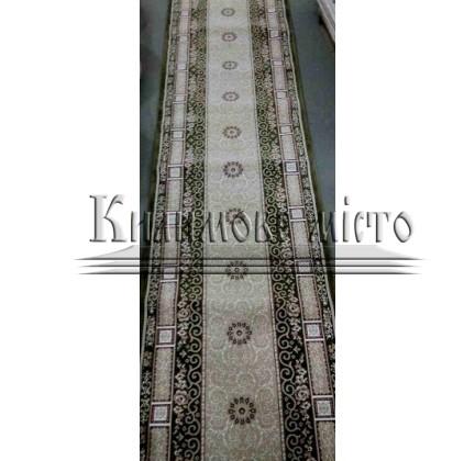 Высокоплотная ковровая дорожка Ottoman 8198 зеленый - высокое качество по лучшей цене в Украине.
