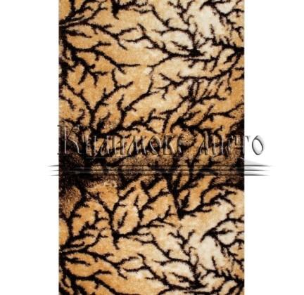 Высоковорсная ковровая дорожка 3D Shaggy b111 l.beige-brown - высокое качество по лучшей цене в Украине.
