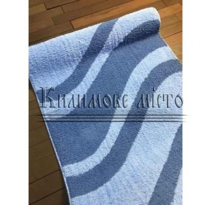 Shaggy runner carpet ASTI Aqua Wash-Blue - высокое качество по лучшей цене в Украине.