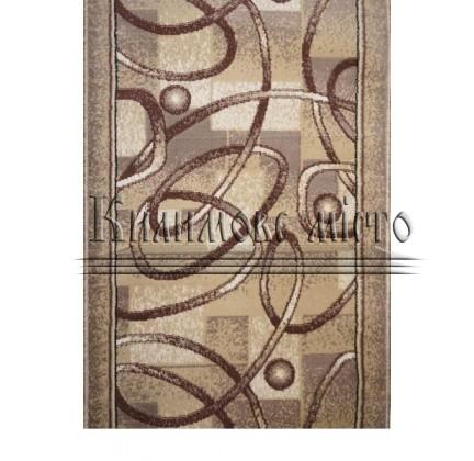Синтетическая ковровая дорожка Almira 2651 Beige-Hardal Рулон - высокое качество по лучшей цене в Украине.