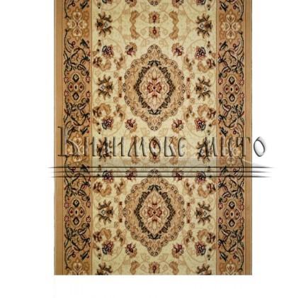 Synthetic runner carpet Almira 2304 Cream-Beige Rulon - высокое качество по лучшей цене в Украине.